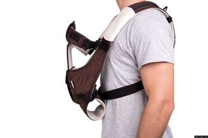 Bugs® Рюкзак-кенгуру для переноски детей 5в1 SafeTop - коричневый