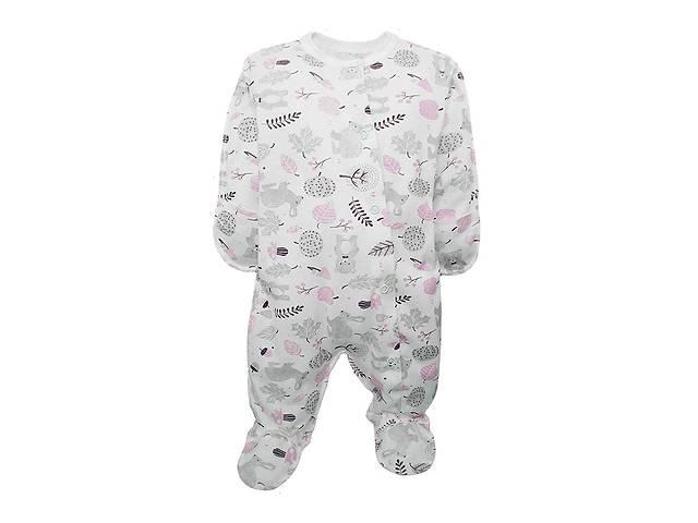 Человечек для новорожденной Luna Style, молоко 0-3 мес 62- объявление о продаже  в Киеве