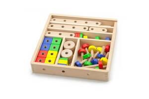 Деревянный конструктор Viga Toys 53 эл. (50490)