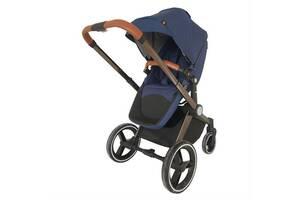 Детская коляска трансформер 2 в 1 Welldon WD007 (синий)