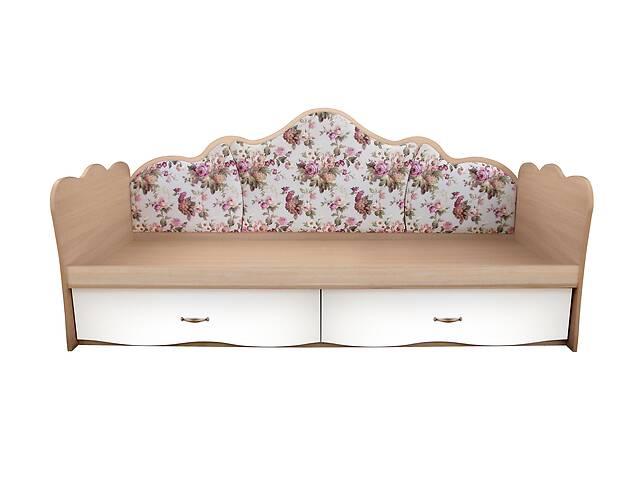 купить бу Дитяче ліжко диван з м'якою спинкою 90 * 190. Доставка безкоштовно в Одесі