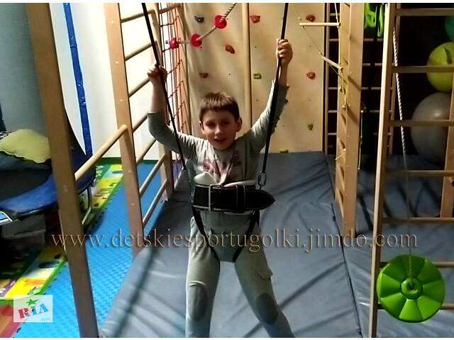 Детская лонжа, страховочный пояс для сальто