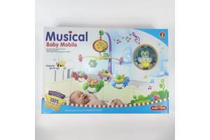 Детская музыкальная карусель JIE GAO BABY TOYS (6518 E)