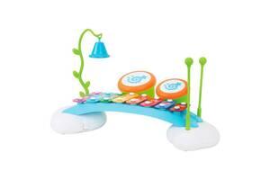 Детская музыкальная игрушка Hola Toys Ксилофон-радуга
