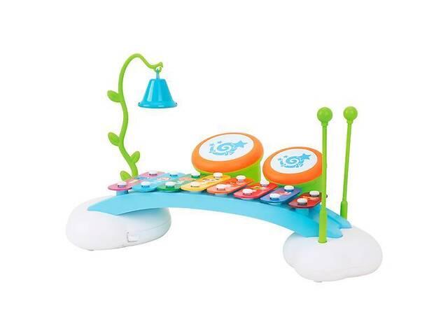 Детская музыкальная игрушка Hola Toys Ксилофон-радуга- объявление о продаже  в Киеве