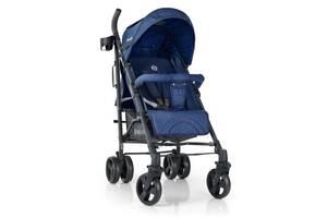 Детская прогулочная коляска с подстаканником, корзиной, окошком «EL CAMINO» BREEZ ME 1029 SPACE BLUE, Синий