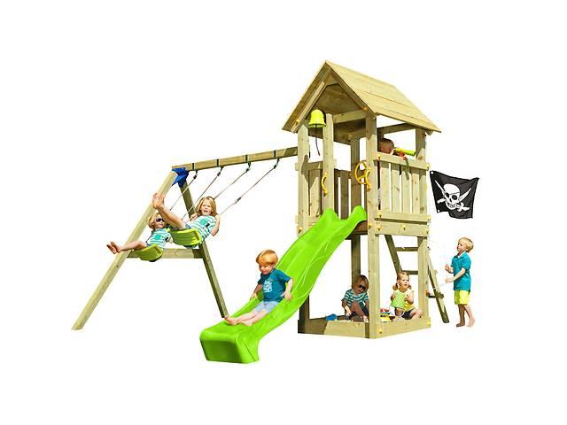 Детская игровая площадка KBT Blue Rabbit KIOSK + SWING Зеленый