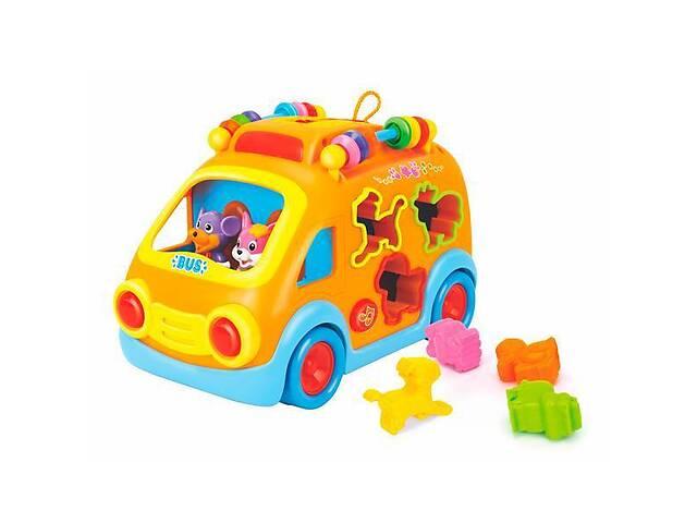 продам Детская игрушка-сортер Hola Toys Веселый автобус, желтый бу в Киеве