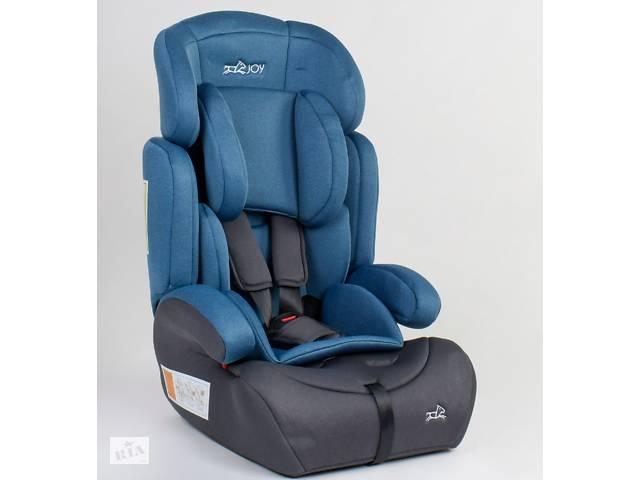 продам Детское автокресло JOY 15416 универсальное, группа 1/2/3, вес ребенка от 9-36 кг, синие бу в Одессе