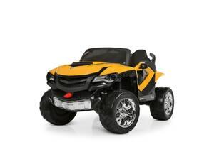 Детский двухместный электромобиль 4WD M 4201EBLR-6 оранжевый