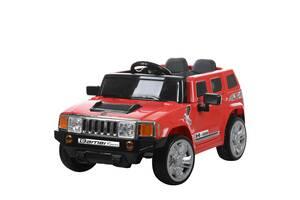 Детский электромобиль Hummer M 3403EBLR-3 красный