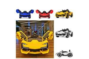 Детский электромобиль Ламборджини Lamborghini M 4115EBLR Колеса EVA, MP3, USB, кожа.