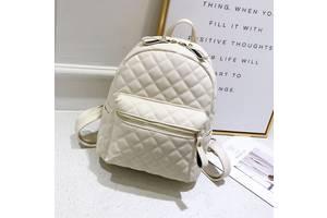 Детский модный рюкзак Белый