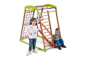 Детский спортивный комплекс для дома SportBaby BabyWood Plus 1
