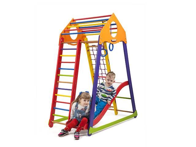 продам Детский спортивный комплекс SportBaby BambinoWood Color Plus 1 бу в Одесі