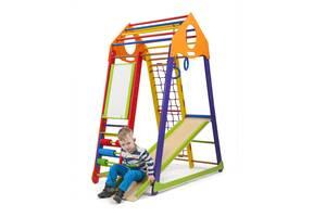Дитячий спортивний комплекс SportBaby BambinoWood Color Plus