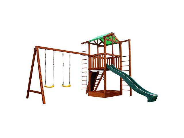 Детский игровой развивающий комплекс для дачи SportBaby Babyland-6