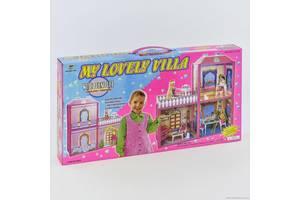 Домик для кукол 6984 Домик с мебелью двухэтажный