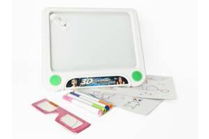 Дитяча 3D дошка для малювання YM157 з маркерами