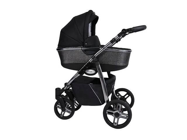 Дитяча коляска 2 в 1 Kunert Professional Libero Premium Class чешуя чорна