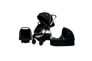 Дитяча коляска 3в1 Cool Baby Black Gold