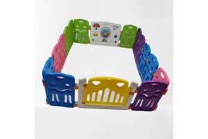 Дитячий манеж AVKO ігровий AHC-001 8+2 кольоровий