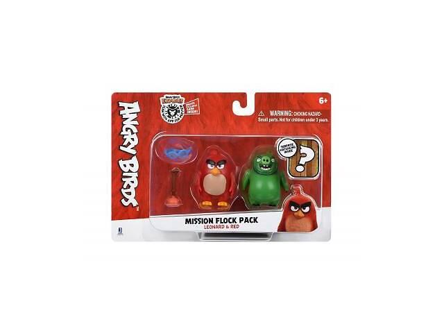 продам Фигурка Jazwares Angry Birds ANB Mission Flock Ред та Леонард (ANB0010) бу в Киеве