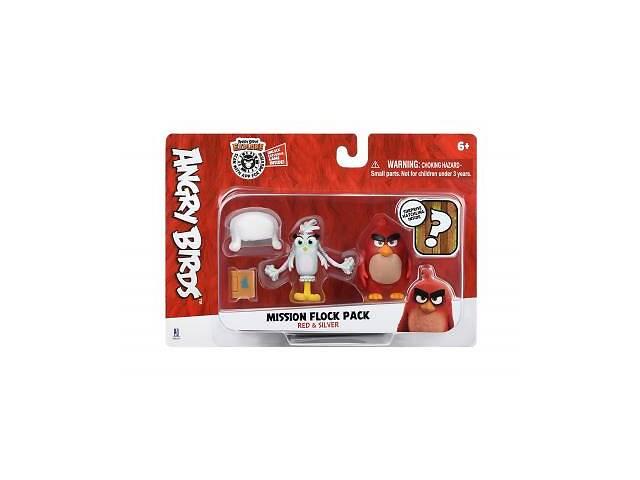 Фигурка Jazwares Angry Birds ANB Mission Flock Ред та Сільвер (ANB0007)- объявление о продаже  в Киеве