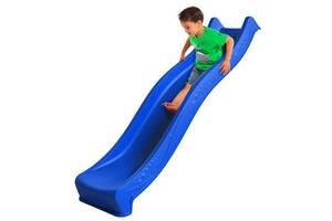 Горка детская пластиковая 2.2м Синяя