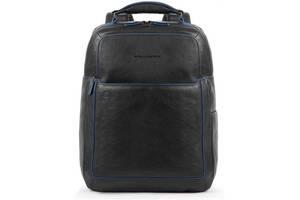 Городской рюкзак кожаный Piquadro B2S, черный