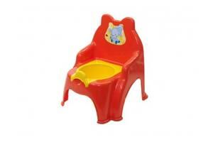 Детский горшок №2 013317/02 со съемной крышкой ( Красный, арт. 013317/02/10)