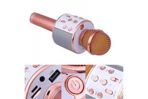 КараокемикрофонWS-858 (WS-858(RoseGold))