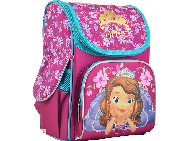 Каркасный школьный рюкзак 1 вересня H-11 Sofia rose 555168 12 л Розовый- объявление о продаже  в Киеве