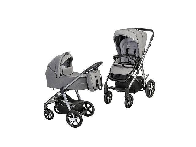 продам Коляска Baby Design 2 в 1 Husky NR 2021 07 GRAY (204340) бу в Харькове