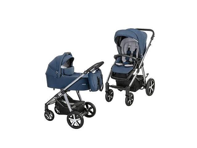 купить бу Коляска Baby Design 2 в 1 Husky NR 2021 103 Navy (204357) в Харькове
