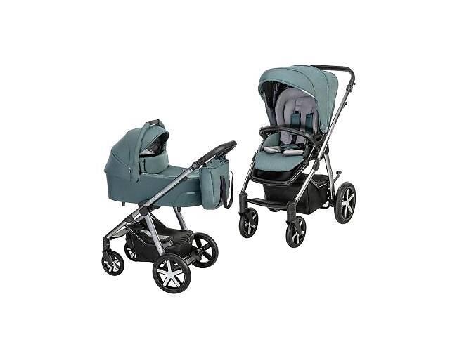 продам Коляска Baby Design 2 в 1 Husky NR 2021 105 TURQUOISE (204364) бу в Харькове