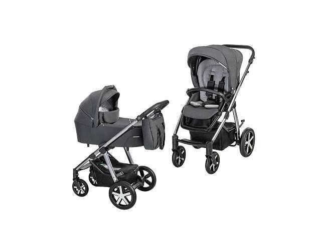 купить бу Коляска Baby Design 2 в 1 Husky NR 2021 117 GRAPHITE (204388) в Харькове