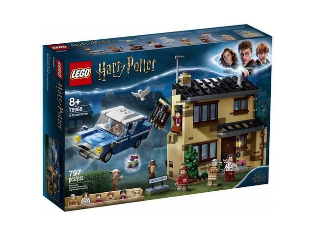 бу Конструктор LEGO Harry Potter Тисовая улица, дом 4, 797 деталей (75968) в Киеве