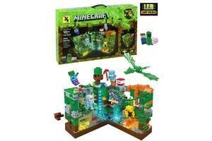 Конструктор Renzaima Minecraft 679  Битва в джунглях