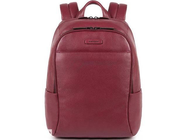 Кожаный городской рюкзак Piquadro Modus Restyling 15л, бордовый- объявление о продаже  в Киеве