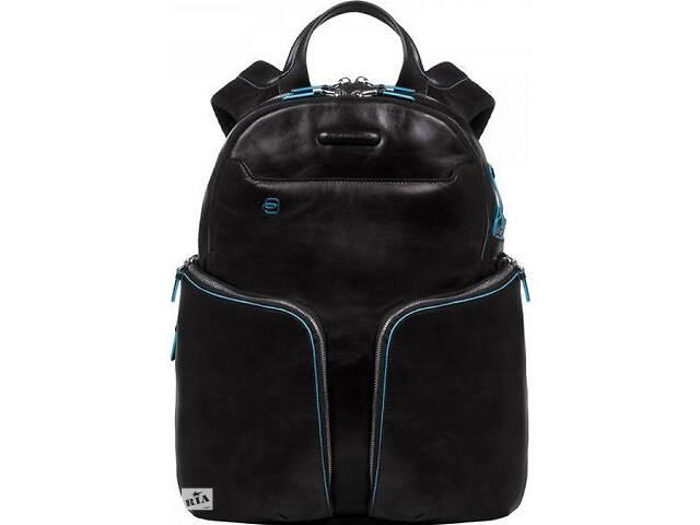 """Кожаный рюкзак для ноутбука 15"""" Piquadro BL SQUARE/Black, CA3066B2_N 22 л- объявление о продаже  в Киеве"""