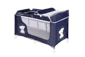 Кровать-манеж Lorelli Moonlight 2 Синий