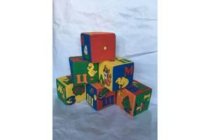 Кубики мягкие, буквы