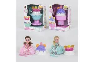 Кукла - мороженое, имеет приятный запах, в наличие 2 вида