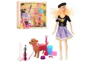 """Кукла типа Барби """"Sariel"""" 7726-A1 скрипачка с собачкой"""
