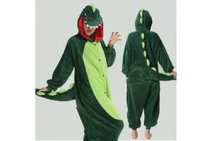 Кигуруми Динозавр зелений (M)