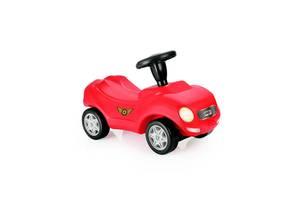 Машинка-толокар DOLU Гонщик Красный с черным (8040)