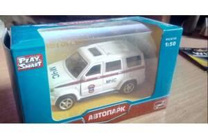 Машинка УАЗ Патриот МЧС модель 1:50