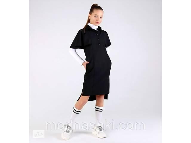 купить бу Модное школьное платье  (черное) тм МОНЕ р-р 140 в Киеве