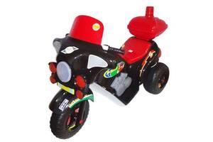 Мотоцикл Электро, черный 372_Ч